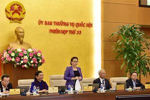 Trình bày dự án Bộ luật lao động (sửa đổi) tại phiên họp 34 UBTVQH