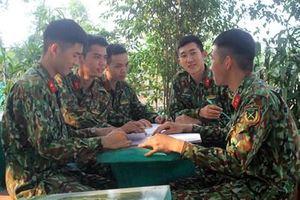 'Lớp học xanh' ở Trung đoàn 95