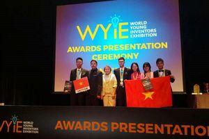 Học sinh Việt Nam giành 2 Huy chương Vàng sáng tạo trẻ thế giới