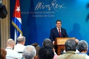 Ngoại trưởng Cuba lên án bản chất bất hợp pháp của Luật Helms-Burton