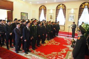 Lễ viếng và mở sổ tang Nguyên Chủ tịch nước Lê Đức Anh tại Trung Quốc