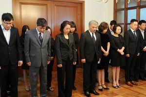 Đại sứ quán Việt Nam tại Mexico tổ chức lễ viếng và mở sổ tang nguyên Chủ tịch nước Lê Đức Anh