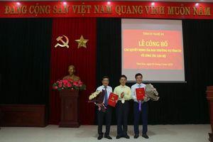 Bí thư Tỉnh đoàn Nghệ An được điều động làm Bí thư Thị ủy Thái Hòa