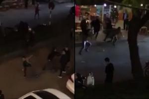Nhóm thanh niên dùng súng giải quyết việc liên quan nữ nhân viên quán bar