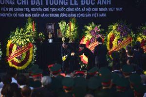 Hình ảnh lễ tang nguyên Chủ tịch nước Lê Đức Anh