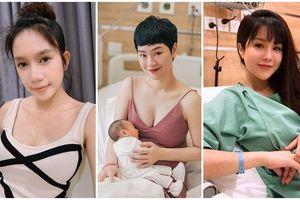 Sao Việt mới sinh con được vài ngày đã khiến dân tình điên đảo vì sắc vóc, thần thái đỉnh cao