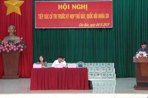 Bộ trưởng Trần Hồng Hà tiếp xúc cử tri huyện Côn Đảo