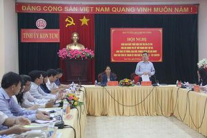 Sơ kết 03 năm thực hiện Chỉ thị 05-CT/TW của Bộ Chính trị tại 13 tỉnh miền Trung - Tây Nguyên