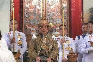 Tân vương Thái Lan chính thức đăng quang