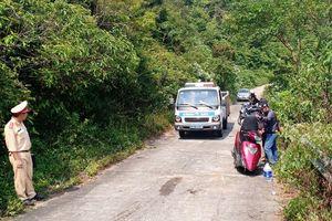 Hai sinh viên Đà Nẵng thương vong khi chạy xe khám phá núi Sơn Trà