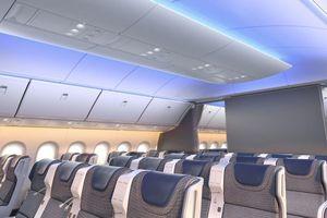 Cận cảnh cấu hình đầy đủ đầu tiên bên trong chiếc máy bay thế hệ mới