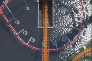 Chạy thử tàu lượn có độ nghiêng lớn nhất thế giới