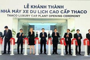 Khánh thành nhà máy xe du lịch cao cấp Thaco