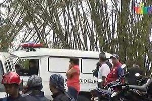 Venezuela: Rơi máy bay quân sự, không ai sống sót