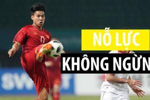 Văn Thanh đã bày tỏ như vậy về khát khao trở lại đội tuyển