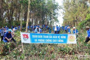 Tuổi trẻ Nghệ An ra quân phòng cháy, chữa cháy rừng năm 2019