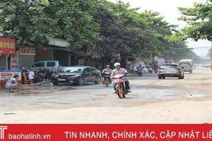 Đường 'treo' lâu nhất TP Hà Tĩnh vẫn chưa thể hoàn thành do đâu?