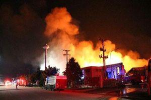 Hàng loạt khu công nghiệp 'quên' phòng cháy, chữa cháy