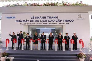 Thaco khánh thành Nhà máy xe du lịch cao cấp Peugeot tiêu chuẩn toàn cầu tại Quảng Nam