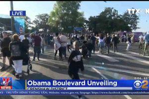 'Đại lộ Obama' – Biểu tượng của hy vọng