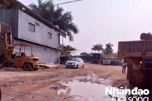 Hàng chục héc ta đất đang bị khai thác trái phép trên địa bàn huyện Thanh Trì – Hà Nội: Ai chịu trách nhiệm?