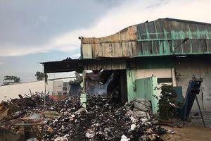 Giám đốc Trung tâm xe bus nói gì về vụ cháy kho chứa tài liệu