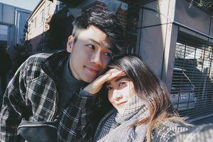 Vợ chồng Trang Lou - Tùng Sơn tình tứ trong chuyến du lịch Nhật Bản