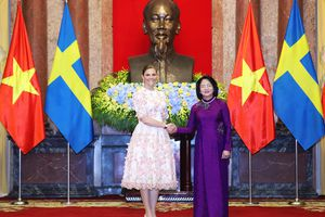 Công chúa kế vị Thụy Điển thăm chính thức Việt Nam