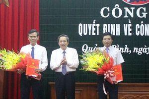 Công bố quyết định nhân sự của Ban Bí thư Trung ương Đảng