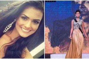 Hoa hậu Brazil tự tử sau thời gian chiến đấu với bệnh trầm cảm