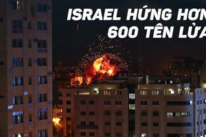 Hơn 600 hỏa tiễn bắn từ Gaza vào Israel