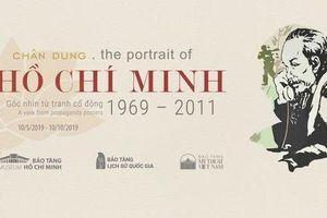 Triển lãm trưng bày 60 bức tranh cổ động về chân dung Chủ tịch Hồ Chí Minh