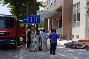 Máy phát điện bốc hỏa khiến nhân viên ngân hàng hoảng loạn