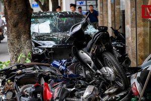 Hé lộ danh tính tài xế 'xe điên' tông hàng loạt xe máy trên đường Trích Sài