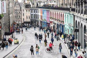Edinburgh chặn các con đường trong trung tâm thành phố để giảm ô nhiễm không khí