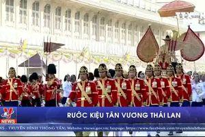 Rước kiệu tân vương Thái Lan