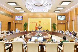 Thông cáo báo chí về dự kiến chương trình Phiên họp thứ 34 của ủy ban Thường vụ Quốc hội
