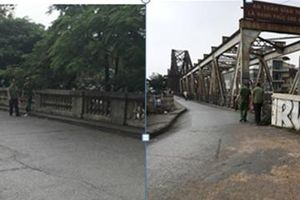Xóa tụ điểm tiêm chích khu vực dốc lên cầu Long Biên