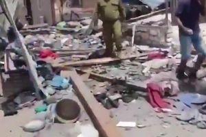 Cảnh đổ nát ở Israel sau loạt rocket dữ dội phóng từ Gaza sang