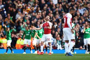 Đánh rơi chiến thắng, Arsenal hẹp cửa vào top 4 Ngoại Hạng Anh