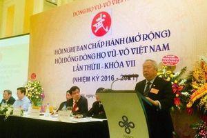 Hội đồng dòng họ Vũ Võ Việt Nam bầu Chủ tịch mới
