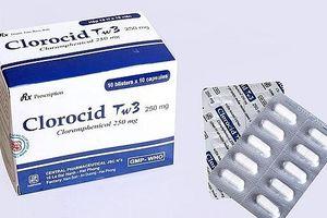 Hà Nội: Xử lý thuốc viên nén Clorocid Tw3 250mg giả