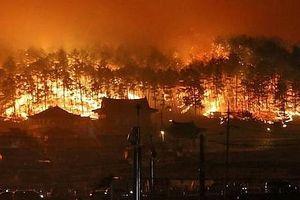 'Bà hỏa' ghé thăm 4 ngôi làng, ít nhất 33 người thiệt mạng