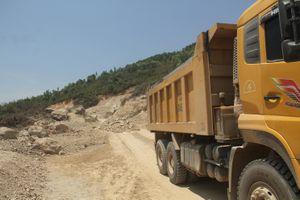 Vụ doanh nghiệp đào núi trái phép: Tỉnh Bình Định chỉ đạo xử lý nghiêm