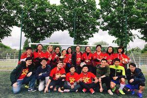 Sôi động giải bóng đá sinh viên Việt Nam tại Pháp
