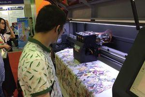 Cơ hội tiếp cận công nghệ in lụa và in kỹ thuật số tại ASGA 2019