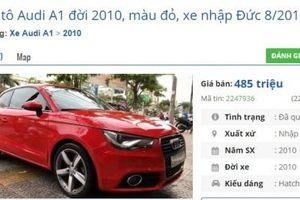 Loạt xe ô tô Audi cũ này đang rao bán giá chưa đến 500 triệu đồng/chiếc tại Việt Nam