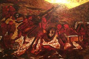 Họa sĩ Cao Trọng Thiềm và niềm tự hào về bức tranh 'Điện Biên năm ấy'