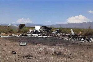 Rơi máy bay ở Mexico: 11 người tử nạn, 2 người bị thương nặng