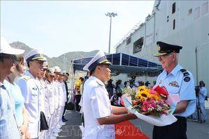 Hai tàu Hải quân Hoàng gia Australia thăm thiện chí Việt Nam